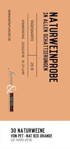 Ticket  »Natural Wines« 2020-03-26