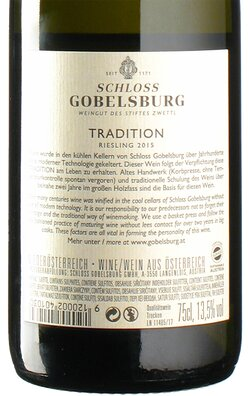 Riesling Tradition 2015