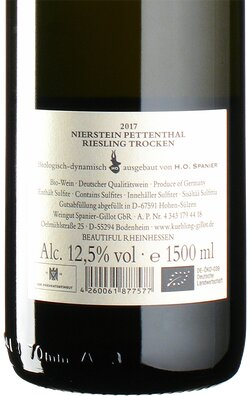 Riesling Pettenthal GG 2017 Magnum