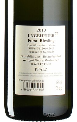 Riesling Ungeheuer GG 2010