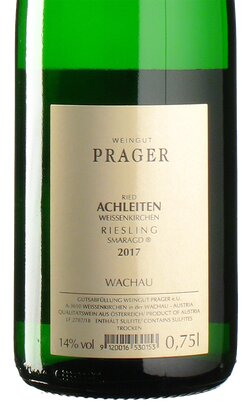 Riesling Achleiten Smaragd 2017