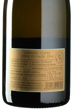Grande Cuvée Exquisit zero dosage 2014