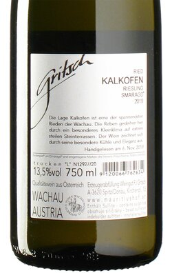 Riesling Ried Kalkofen Smaragd 2019