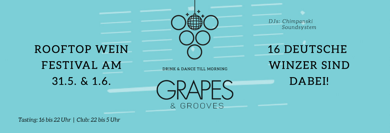 Jetzt Tickets sichern: Grapes & Grooves R