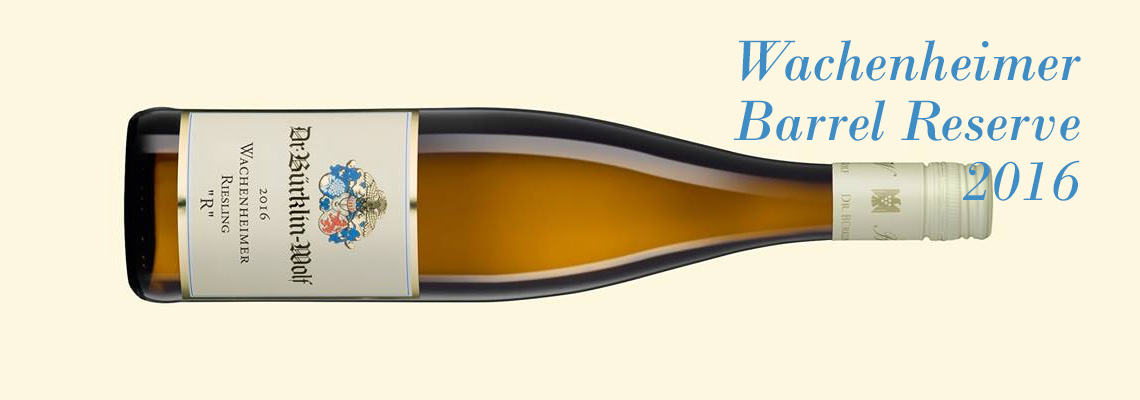 The new barrel reserve from Bürklin-Wolf is f