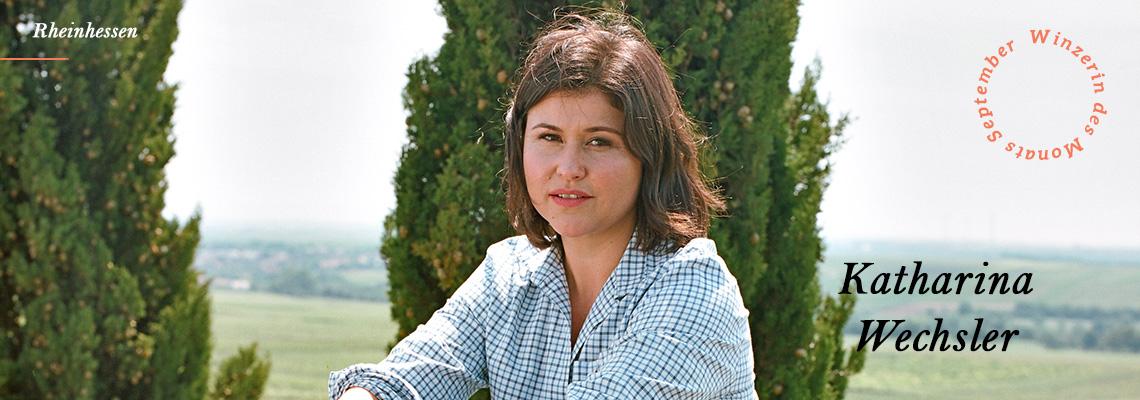 Katharina Wechsler ist die Winzerin des Monat