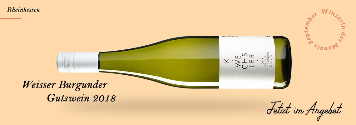 Wein des Monats September: Weisser Burgunder