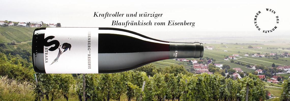 Wein des Monats November: Straka Reserve