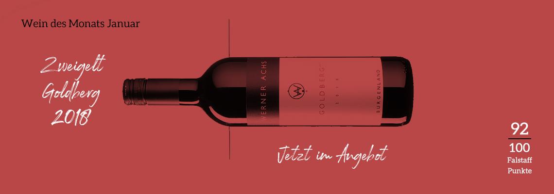 Achs Goldberg ist der Wein des Monats Januar