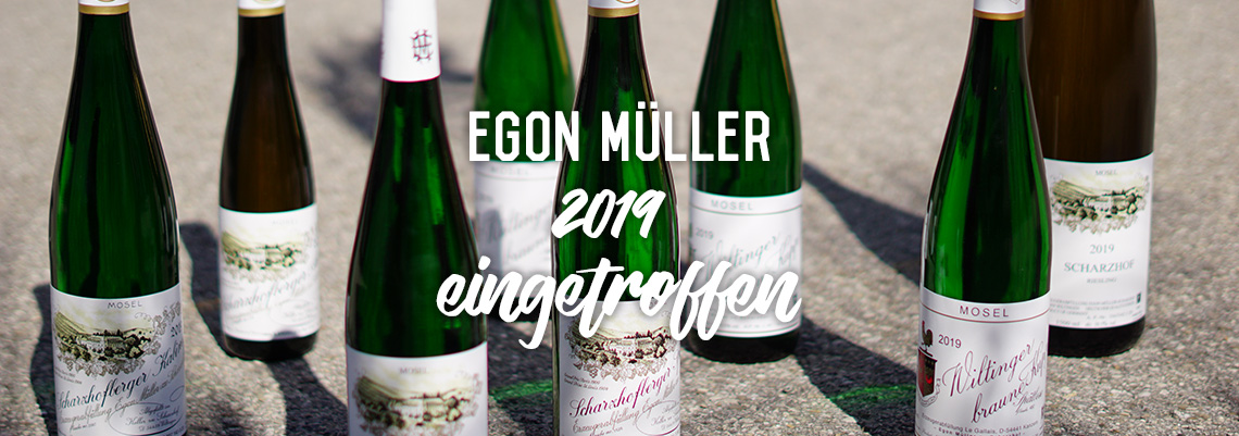 New Vintage from Egon Müller has arrived!