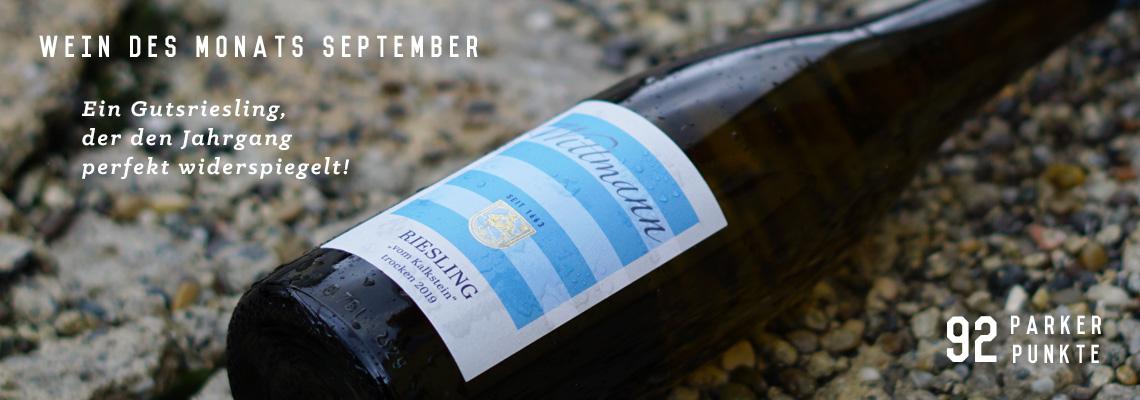 Wein des Monats August - duftiger und leichtf