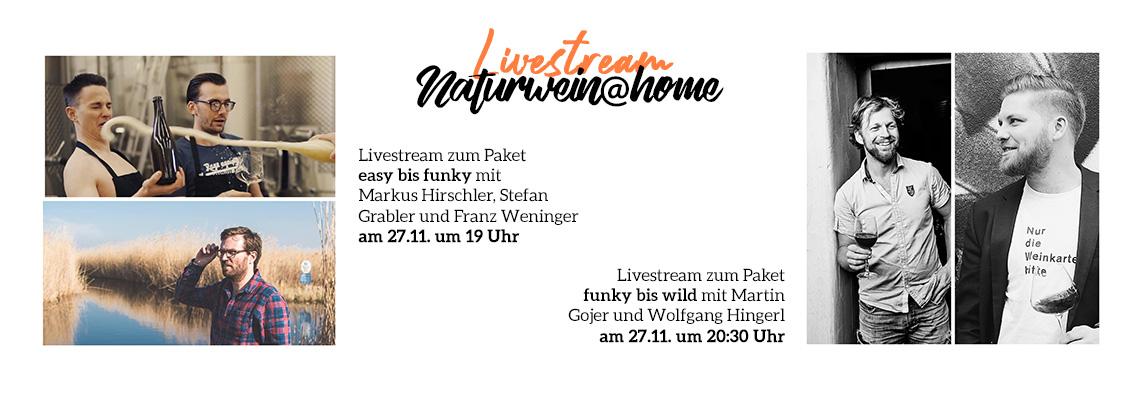 Naturwein@home - Livestream am 27.11.